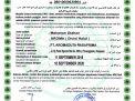 Halal Certificates Aroma